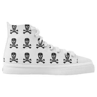 Talk Like a Pirate Day High-Top Sneakers