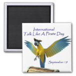 Talk Like a Pirate Day Magnet