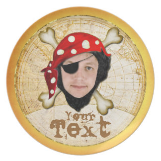 Talk Like a Pirate Day photo plate for guys