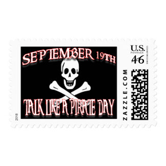 talk like a pirate day postage