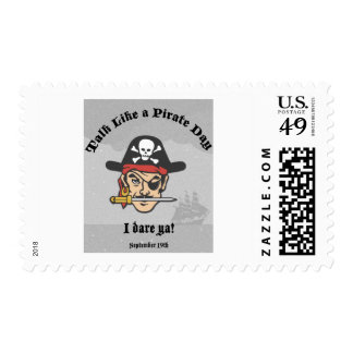 Talk like a Pirate Day! Postage Stamps