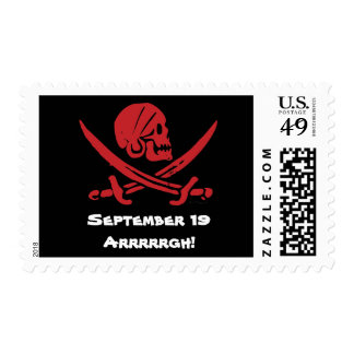 Talk Like A Pirate Day Postage Stamps