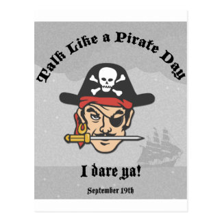 Talk like a Pirate Day! Post Card