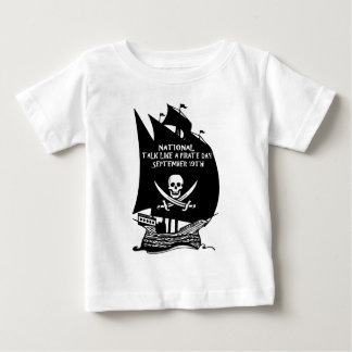 Talk Like A Pirate Day Ship Infant T-shirt