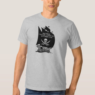 Talk Like A Pirate Day Ship T Shirt