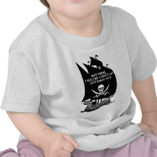 Talk Like A Pirate Day Ship T Shirts