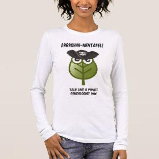 Talk Like A Pirate Genealogist Day Long Sleeve T-Shirt