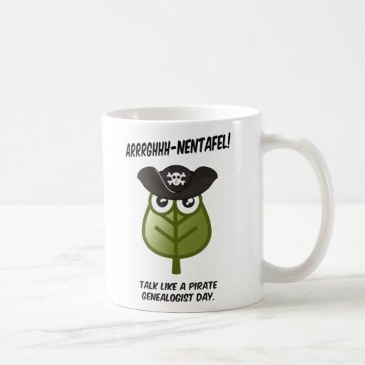 Talk Like A Pirate Genealogist Day Mug