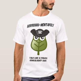 Talk Like A Pirate Genealogist Day T-Shirt