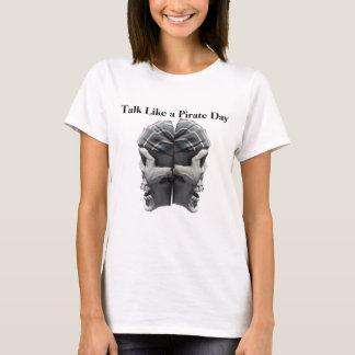 Talk Like a Pirate skull version T-Shirt