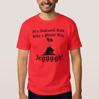 Talk Like a Pirate Tee Shirt