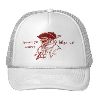 Talk Like A Pirate Trucker Hat