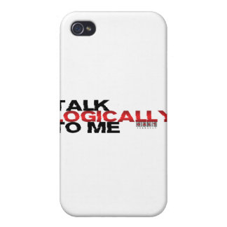 Talk Logically To Me iPhone 4 Cover
