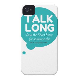 Talk Long - Mental Illness Awareness - iphone 4 iPhone 4 Case-Mate Case