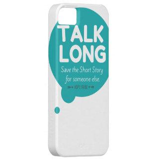 Talk Long - Mental Illness Awareness - iphone 5 iPhone SE/5/5s Case