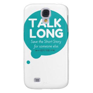Talk Long - Mental Illness Support - Galaxy S4 Samsung Galaxy S4 Cases