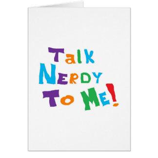 Talk Nerdy Cards