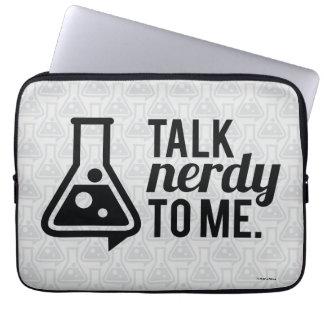 Talk Nerdy Computer Sleeve