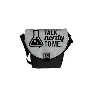 Talk Nerdy Messenger Bag