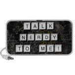 Talk Nerdy Mp3 Speakers