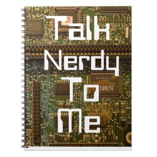 talk nerdy notebook