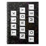 Talk Nerdy Spiral Notebook