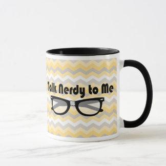 Talk Nerdy To Me Geek Love Mug