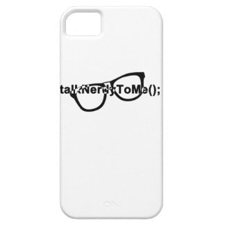 Talk nerdy to me glasses iPhone SE/5/5s case