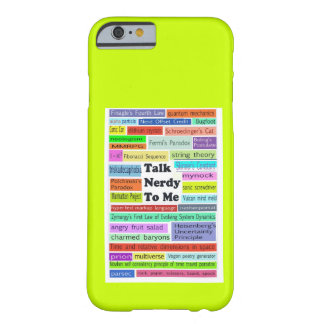 Talk Nerdy to Me iPhone 6 case