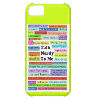 Talk Nerdy to Me iphone case iPhone 5C Cases