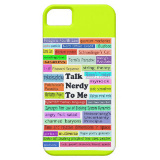 Talk Nerdy to Me iphone case iPhone 5 Covers