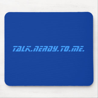 talk.nerdy.to.me. mouse pad