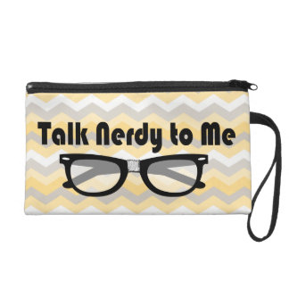 Talk Nerdy To Me Wristlet Purse