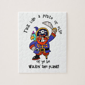 Talk Pirate or Walk The Plank - It s Pirate Day Puzzle