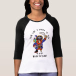 Talk Pirate or Walk The Plank - It's Pirate Day Tshirts