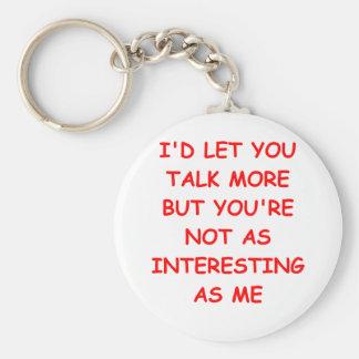 TALK.png Key Chains