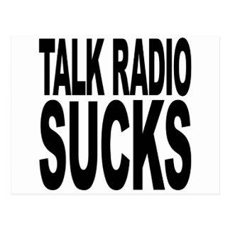 Talk Radio Sucks Postcard