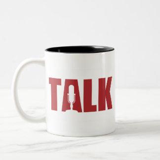 Talk Radio Two-Tone Coffee Mug