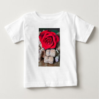 TALK ROSE with cork Baby T-Shirt