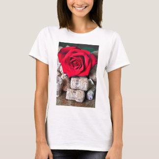 TALK ROSE with cork T-Shirt