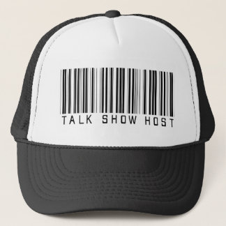 Talk Show Host Bar Code Trucker Hat