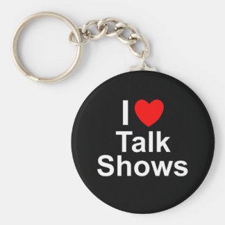 Talk Shows Keychain