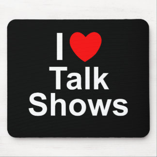Talk Shows Mouse Pad