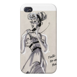 Talk To Me Baby i-phone case