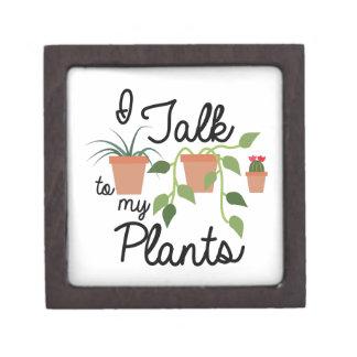 Talk To Plants Premium Trinket Boxes