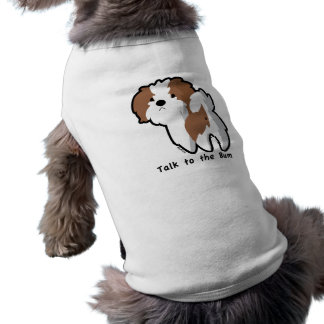 Talk to the Bum Pet Clothing