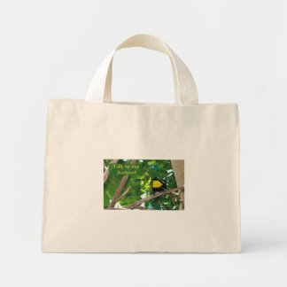Talk to the feathers! Bag