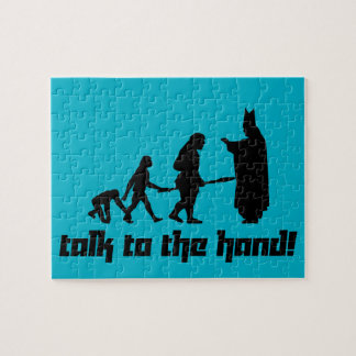 Talk to the hand! jigsaw puzzle