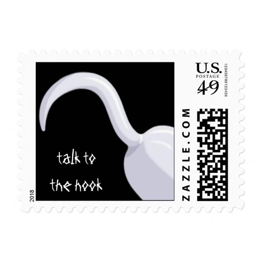 talk to the hook stamp
