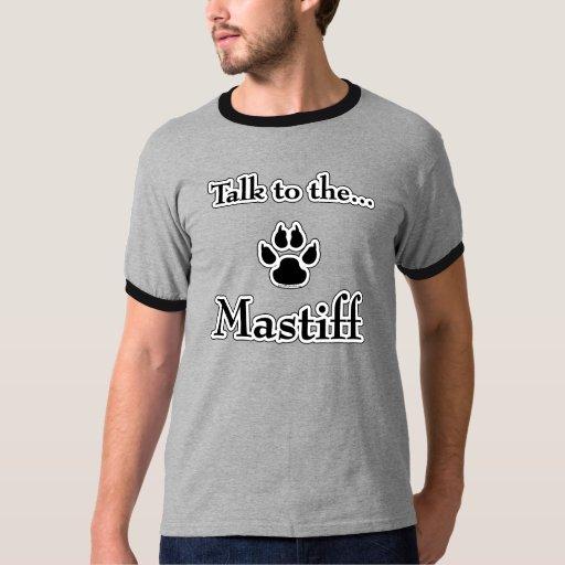 Talk to the Mastiff black T-Shirt